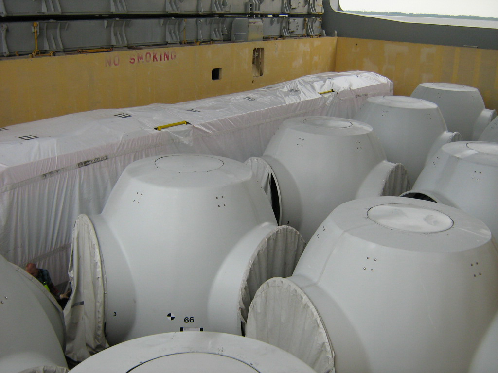 Wind turbine nose cones