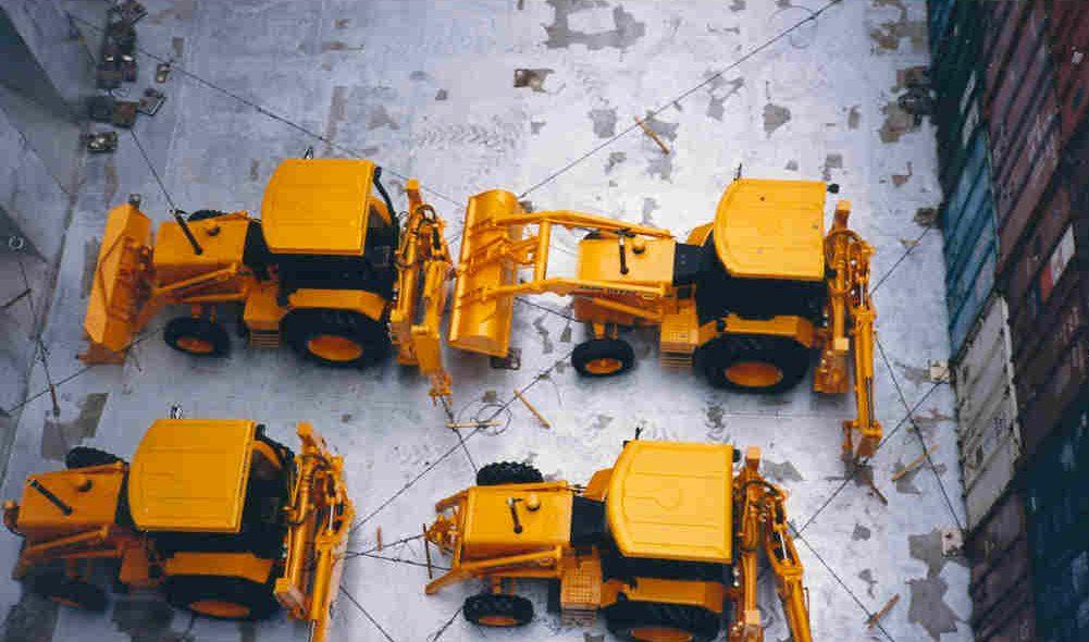 Veículos de construção