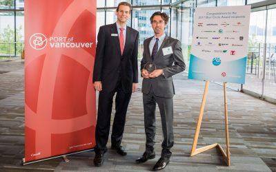 G2 Ocean awarded environmental award